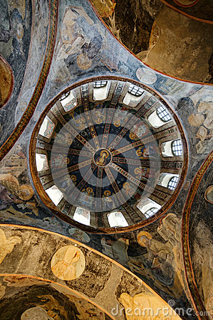 Chora church roof