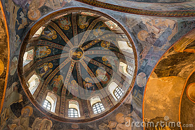 Chora Church Stock Illustration - Image: 44432864