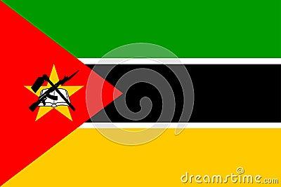 Chorągwiany Mozambique