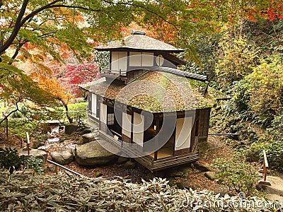 Choshukaku house of Sankeien Editorial Image