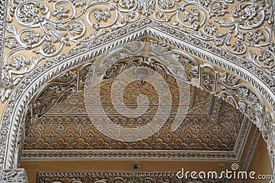 Chowmahalla Palace in Hyderabad, India