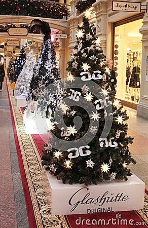 Chrictmas shop decoration