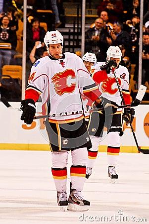 Chris Butler Calgary Flames Editorial Stock Image