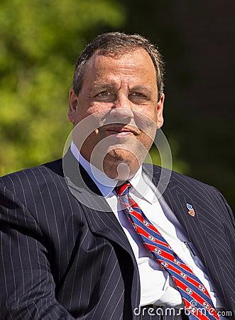 Chris Christie Editorial Stock Photo