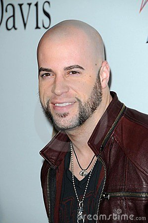 Chris Daughtry, Clive Davis, Daughtry Editorial Photo