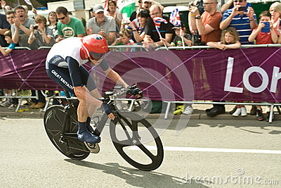 Chris Froome in the Olympic Time Trial Editorial Photo