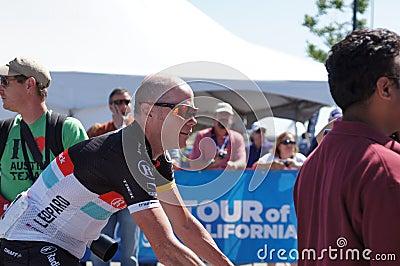 Chris Horner 2012 Amgen Tour of California  Editorial Photo
