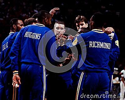 Chris Mullin and Mitch Richmond, Golden State Warriors