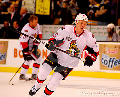 Chris Neil Ottawa Senators Editorial Stock Image