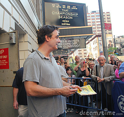 Chris noth on broadway. Editorial Stock Image