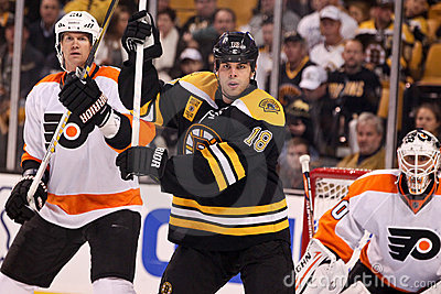 Chris Pronger and Nathan Horton Editorial Stock Image