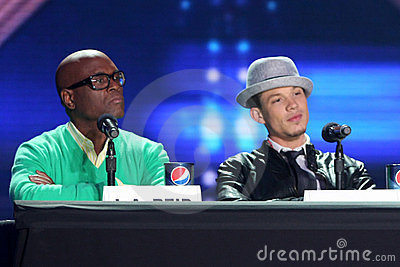 Chris Rene, L.A. Reid,  Editorial Stock Photo