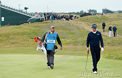 Chris Tidland  British Open Sandwich 2011 Editorial Stock Photo