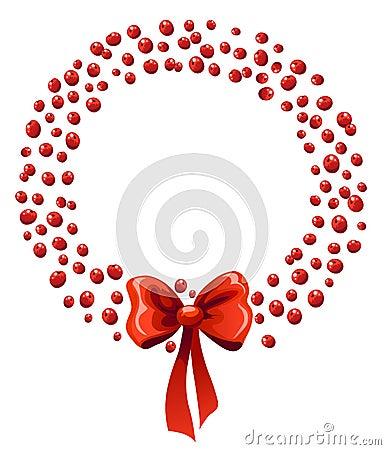 Chrismas berry wreath