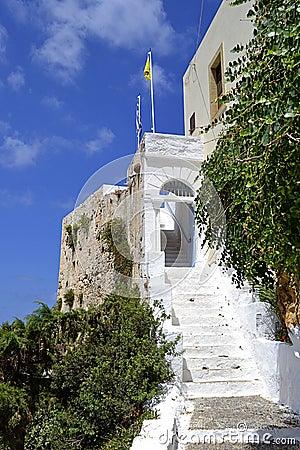 Chrisoskalistissa monastery in Crete, Greece