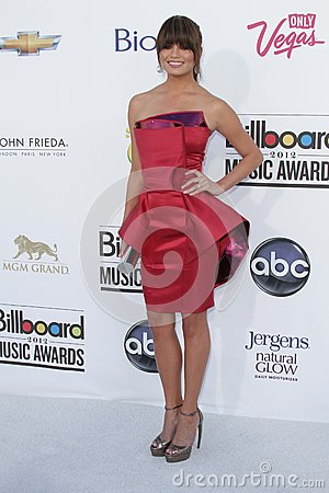 Chrissy Teigen at the 2012 Billboard Music Awards Arrivals, MGM Grand, Las Vegas, NV 05-20-12 Editorial Photography
