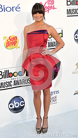 Chrissy Teigen arrives at the 2012 Billboard Awards Editorial Photo