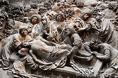Christ burial