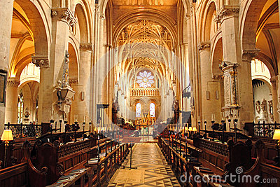 Christ Church Cathedral, Oxford Editorial Photography