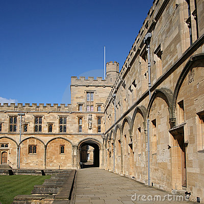 Free Christ Church College Oxford Royalty Free Stock Photo - 3892385