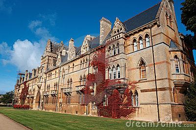 Christ Church college. Oxford, England