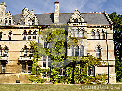 Christ Church college in Oxford,