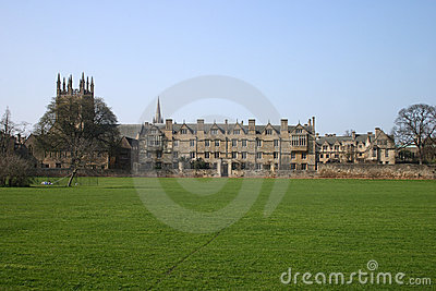 Christ Church College Oxford University Meadow Building