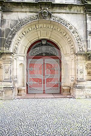 christ church kassel door for emperor. Black Bedroom Furniture Sets. Home Design Ideas