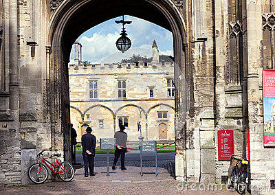 Christ Church, Oxford Editorial Image
