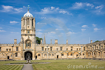 Christ Church s Tom Tower, Oxford University