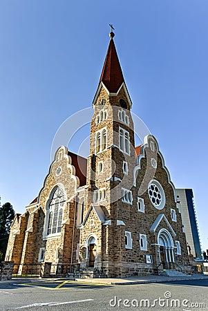 Free Christ Church - Windhoek, Namibia Stock Photos - 59653903