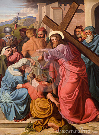 Christ and the cry of woman