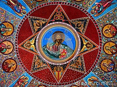 Christ frescoe