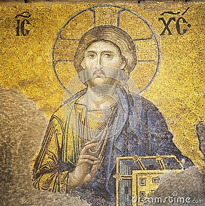 Christ jesus mosaik