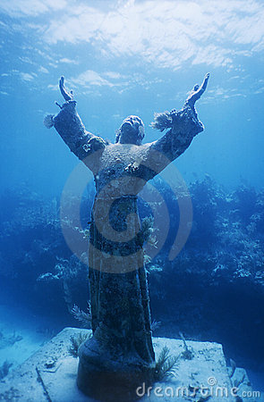 Free Christ Of The Abyss Stock Image - 12317911