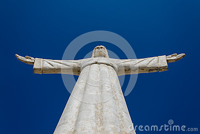 Christ the Redeemer or Christo Redentor statue in Lubango, Angola