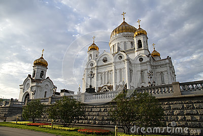 Christ the Savior Cathedral, Moscow, Russia.