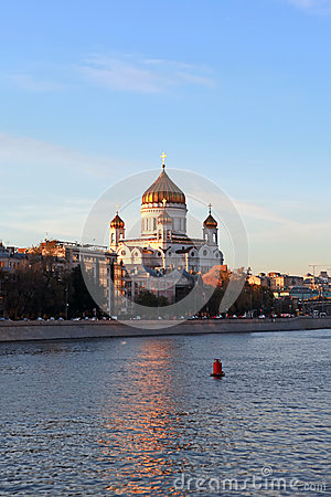 Christ the Savior Cathedral. Moscow, Russia