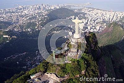 Christ statue in Rio de Janeiro,