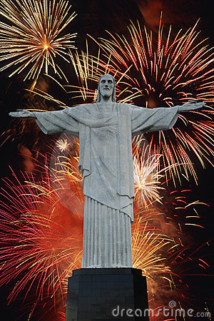 Free Christ The Redeemer Royalty Free Stock Photos - 1124248