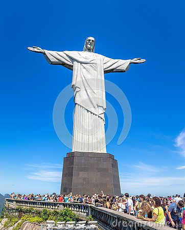 Free Christ The Redeemer Statue - Rio De Janeiro, Brazil Royalty Free Stock Image - 129859056
