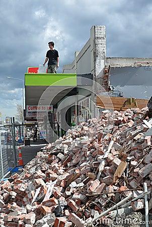 christchurch earthquake in new zealand. CHRISTCHURCH EARTHQUAKE