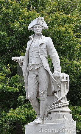 Free Christchurch, New Zealand - Captain James Cook Royalty Free Stock Images - 17965839
