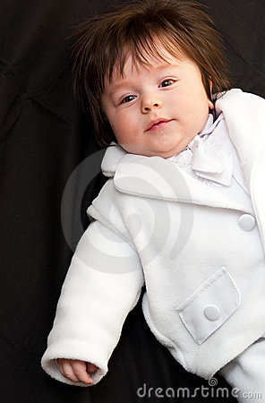Christening baby boy