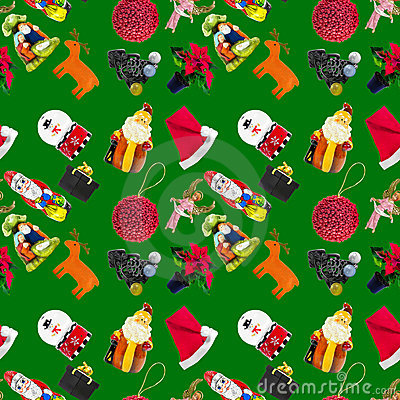 Free Christhmas Seamless Pattern Royalty Free Stock Image - 21976226