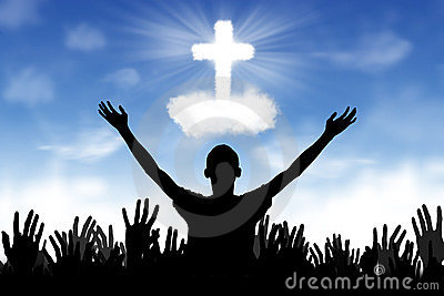 Christian Background: Worshipers