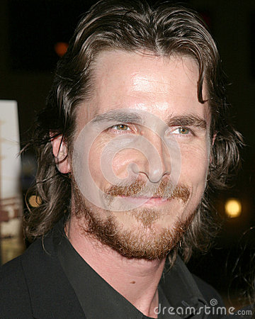 Christian Bale Editorial Stock Photo