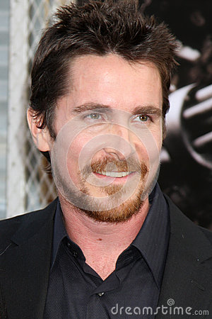 Christian Bale Editorial Stock Image
