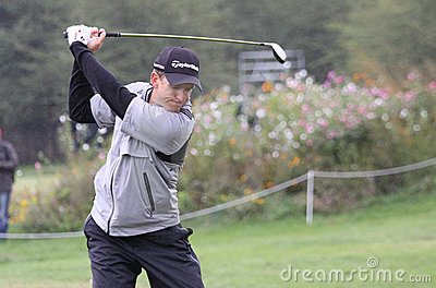 Christian Cevaer, Vivendi golf cup, sept 2010 Editorial Photography