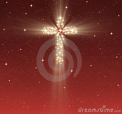 Free Christian Cross In Stars Stock Photos - 6795143